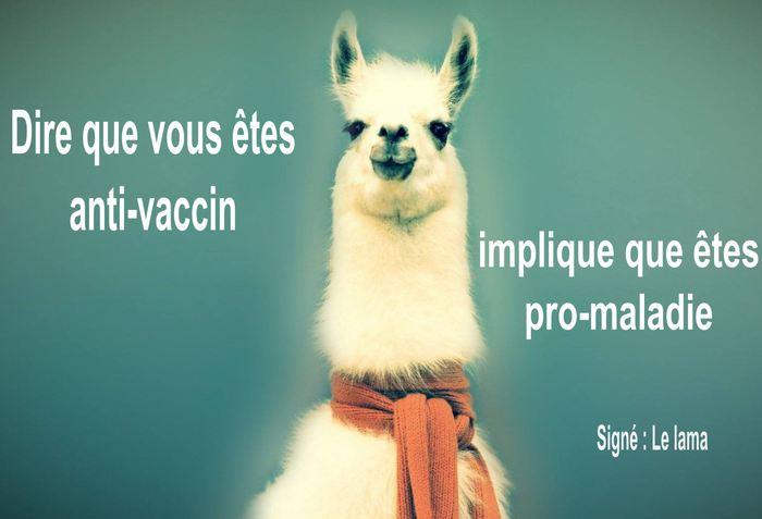 Si vous êtes anti-vaccin, alors vous êtes pro-maladie