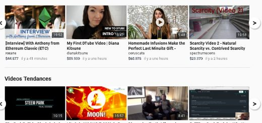 D Tube est une alternative à Youtube