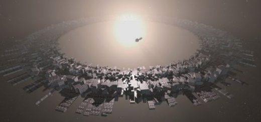 Une illustration d'artiste sur des sphères de Dyson, des mégastructures aliens pour extraire de l'énergie, directement d'une étoile