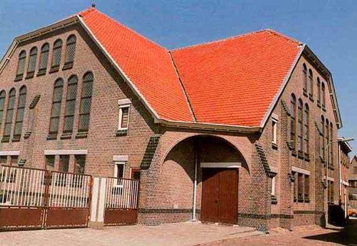 L'église Gereformeerde Kerk à Katwijk
