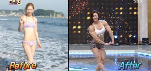 Muscle Barbie alias Yeon-woo Jhi est une célébrité sur le web. Une sud-coréenne mignonne qui est aussi une montagne de muscles !