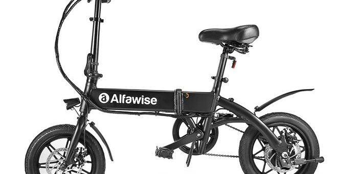 Notre test de Alfawise X1, un superbe vélo électrique pouvant monter jusqu'à 25 km/h et une autonomie de quasiment 50 km !