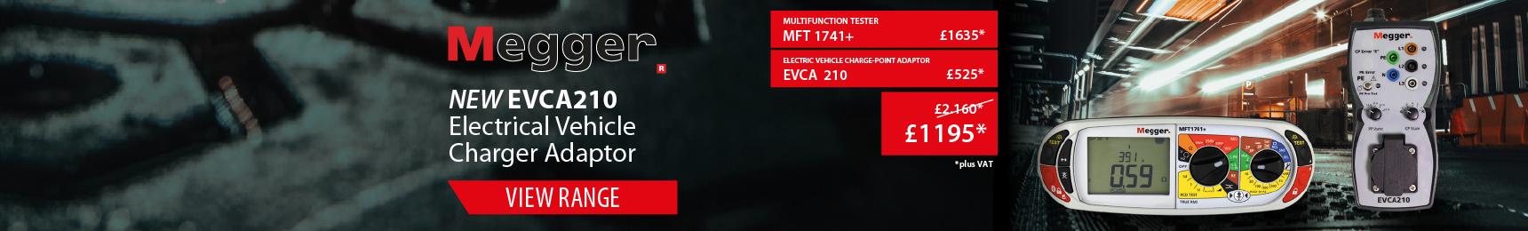Megger EVCA210 EV Charge Point Adaptor
