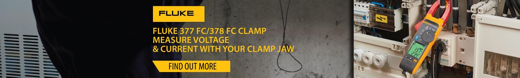 Fluke Power Quality Clamp 378 FC