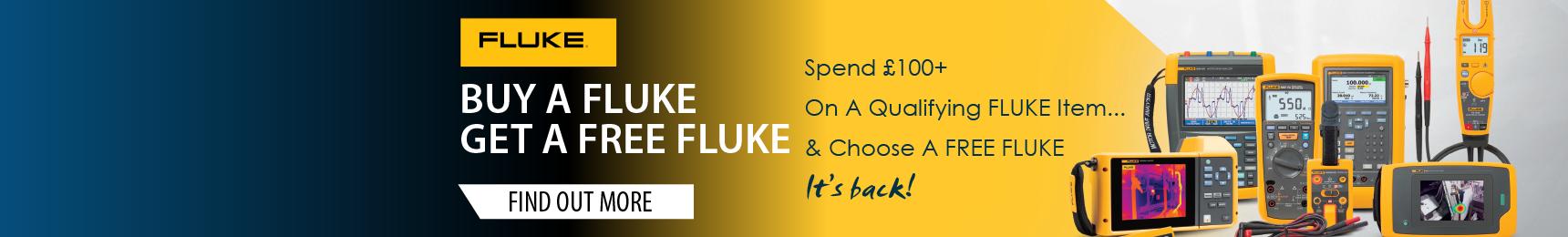 Buy A FLUKE, Get A FREE FLUKE PROMO (BAFGAFF)