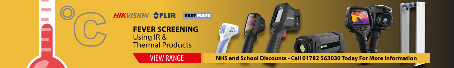 Fever Screening with Thermal Solutions NHS Discount