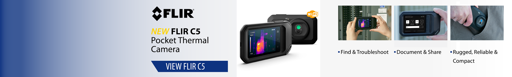FLIR C2 Pocket Thermal Camera