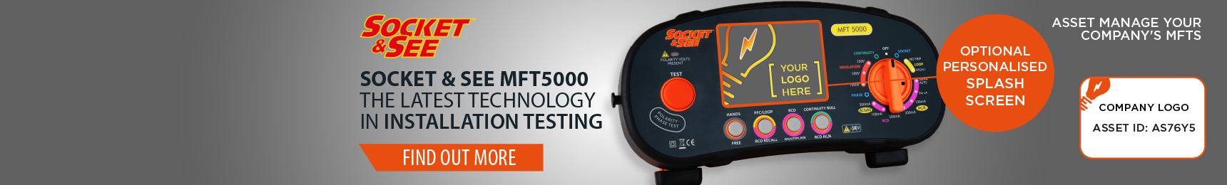 Socket and See MFT5000 Multifunction Tester