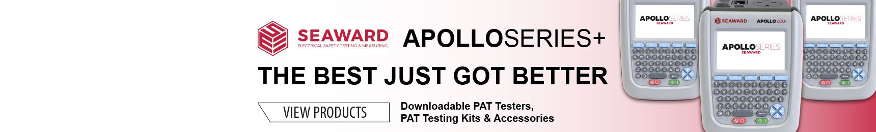 Seaward new apollo+ PAT Testers
