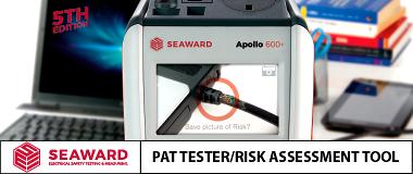 Seaward Apollo 600+ PAT Tester and Risk Assessment Tool