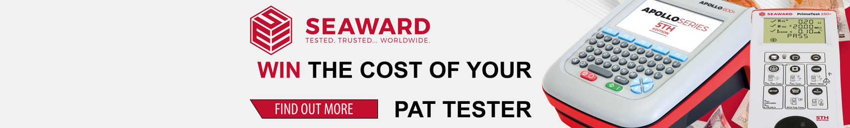 Seaward WIN the cost of your PAT Tester