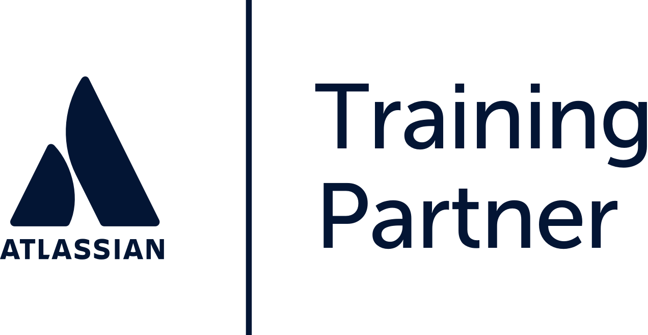 Atlassian training partner logo