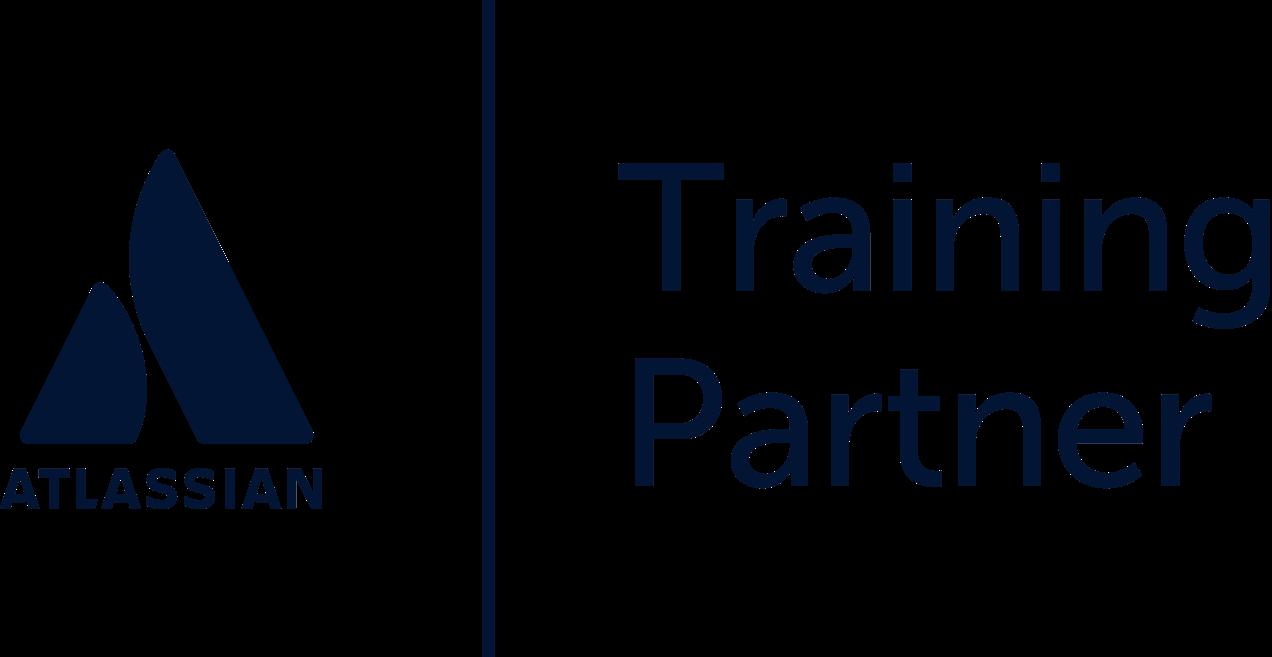 Atlassian training partner logo