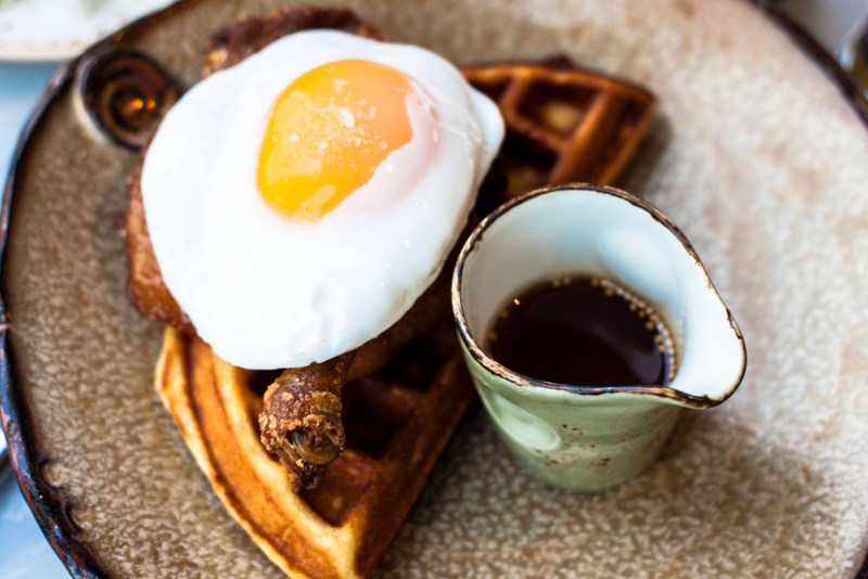 Duck and Waffle - Signature Dish