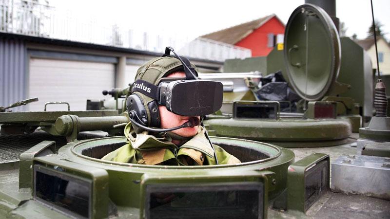 Oculus Rift military - Eirik Helland Urke