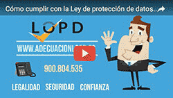 Video AdecuacionLOPD