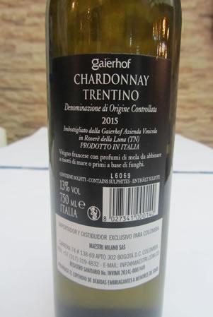 Foto Chardonnay Etichetta