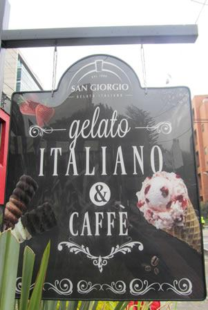 Foto Gelateria Cartello
