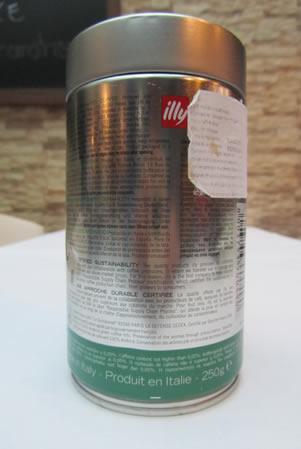 Caffé Illy Verde Etichetta