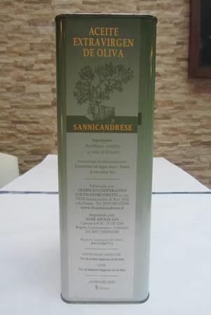 Etichetta - Olio di Oliva