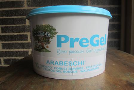 Prodotto Arabeschi per gelato