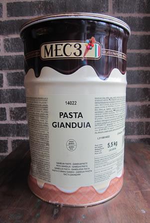 Prodotto Pasta Gianduia per gelato