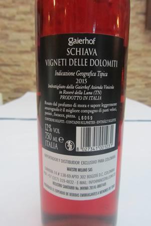 Etichetta Rosé