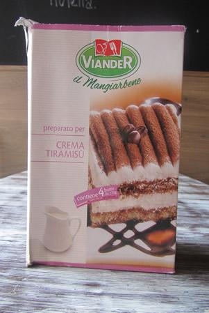 Crema Tiramisú per dessert