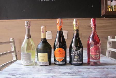 Prosecchi e Vini Frizzanti