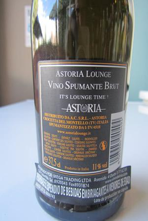 Etichetta - Astoria
