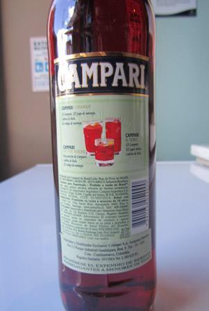Etichetta - Campari