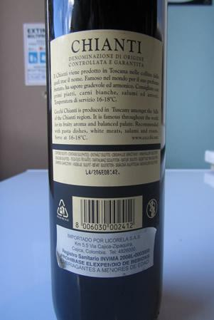 Etichetta - Chianti