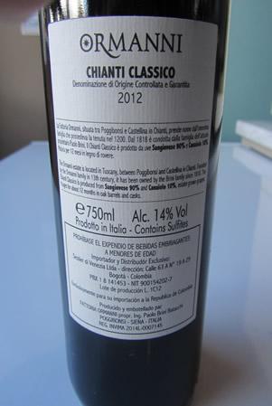 Etichetta Ornami