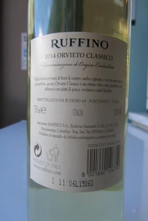 Etichetta Ruffino