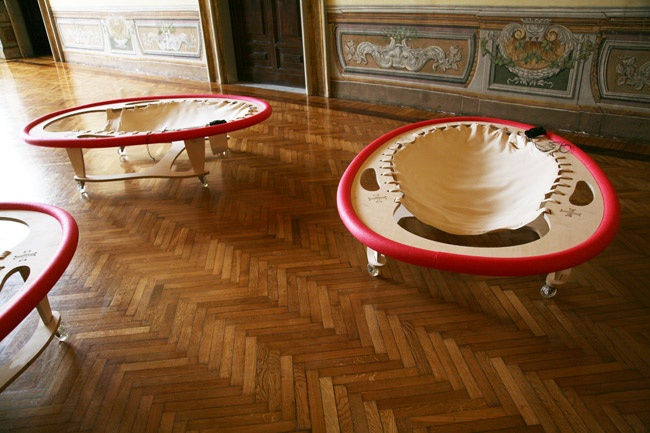 Ernesto Neto, Palazzo Pamphilj, LTVs, Lancia TrendVisions