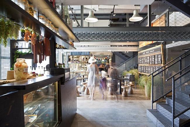 LTVs, Lancia TrendVisions, Jaffa Port Market, Jacobs-Yaniv Architects