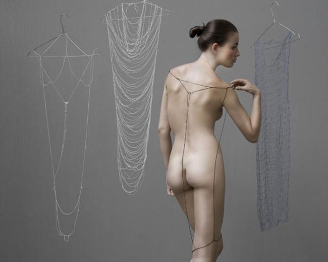 Платье фото ню