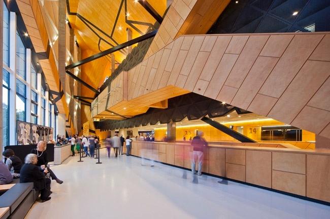 Perth Arena, ARM Architecture, Cameron Chisholm Nicol, LTVs, Lancia TrendVisions