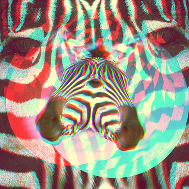 Brock Lefferts' psychedelic graphics project | Lancia TrendVisions