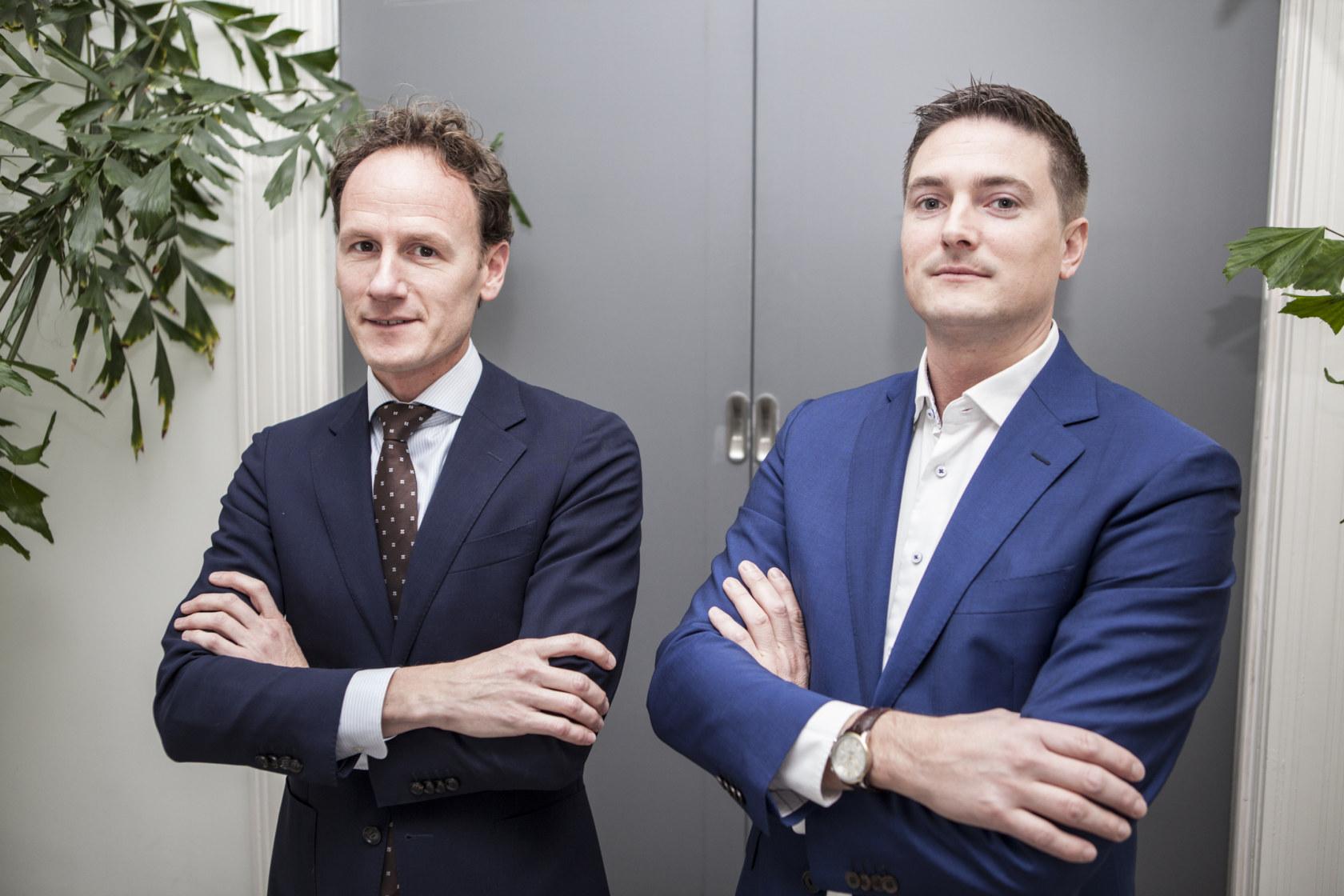 Niels Dorrestein en Sander de Korte
