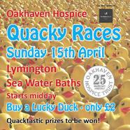 Oakhaven Hospice Quacky Races
