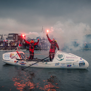 The Ocean Brothers rowed home to Lymington on Good Friday, read our report