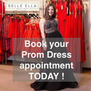 Belle Ella Prom Dresses - book your appointment today