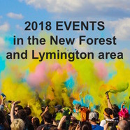2018 Events in Lymington and the New Forest area th