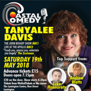 The Coastal Comedy Show at The Lymington Centre i19 May 2018