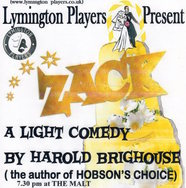 Zack by the Lymington Players