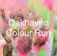 Oak haven Colour Run