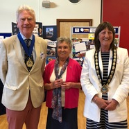 Lymington Centre celebrates 70 and Lymington celebrates new mayor