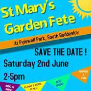 St Mary's Garden Fete at Pylewell Park