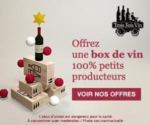 code promo trois fois vin